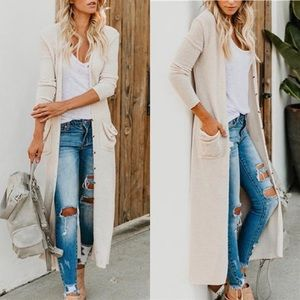 Sweaters - Button Down Cardigan